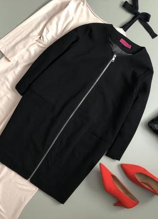 Стильный базовый плащ/ легкое пальто кокон boohoo