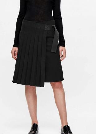 Cos шерстяная юбка