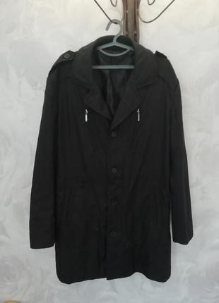 Мужское пальто тренч