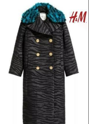 Пальто kenzo for h&m.