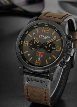 Мужские часы, кожаные часы для мужчин, стильные часы