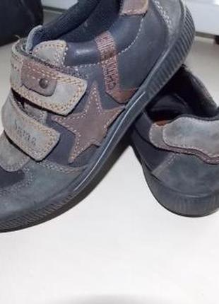 Немецкие демисезонные туфли-ботинки bama в школу