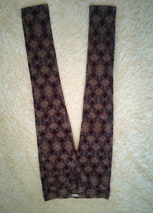 Вельветовые брюки с принтом club monaco