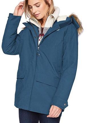 Зимняя парка jack wolfskin новая, оригинал куртка пальто xs-s