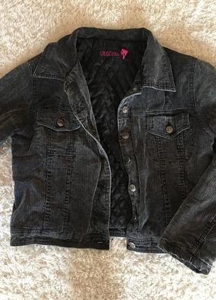 Велюровая джинсовка куртка fishbone oversize