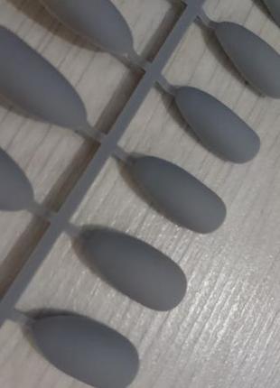 Накладные матовые ногти 24 шт