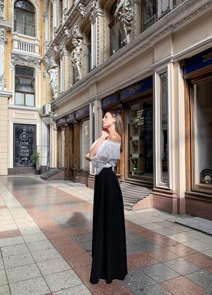 Тренд осени: юбка-брюки7 фото