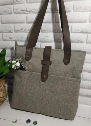 Прочная стильная сумка