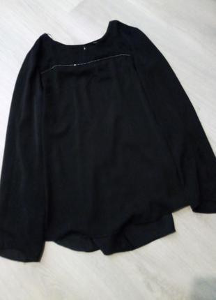 Брендовая блузка вырез на спине4 фото