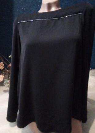 Брендовая блузка вырез на спине1 фото