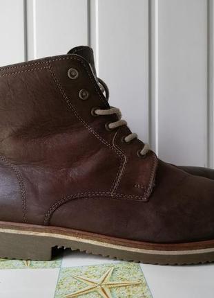Зимние кожаные ботинки фирмы gotti