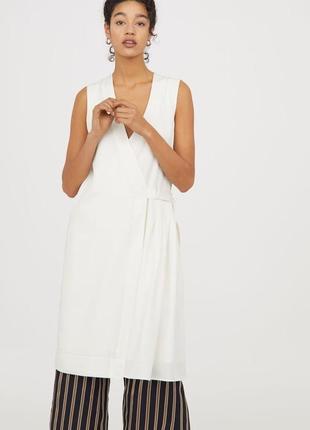 Платье на запах из 100% лиоцелла h&m conscious!