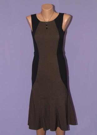 Классическое платье с клиньями