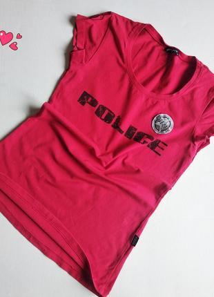 Трикотажная футболка с надписью, молодежная одежда