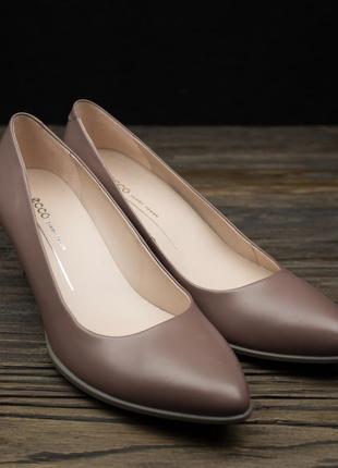Женские туфли ecco shape 45 pointy sleek