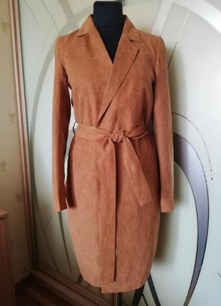 Плащ, пальто-халат під пояс vila clothes