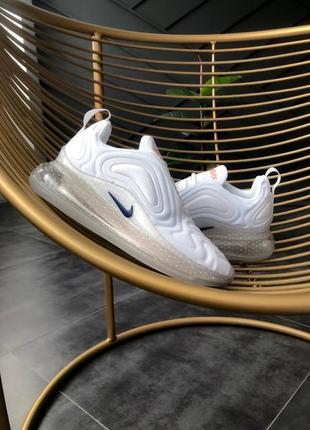 Шикарные кроссовки air max 720 white trainer снова в наличии
