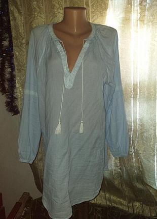 Рубашка - платье . вьішиванка