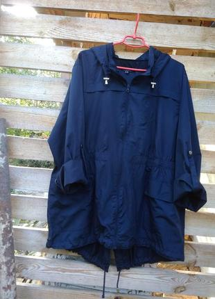 Куртка ветровка- парка