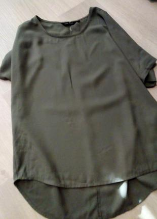 Блузка хаки