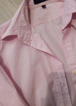 Брендовая рубашка полоска lawrence crey3 фото