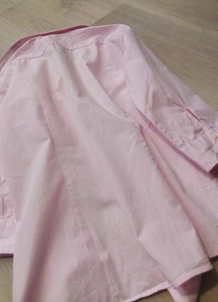 Брендовая рубашка полоска lawrence crey7 фото