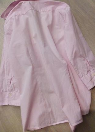 Брендовая рубашка полоска lawrence crey