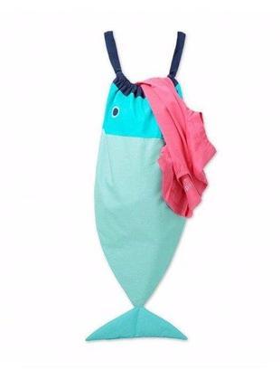 Сумка-рыба для белья, банных принадлежностей и других мелочей от тсм tchibo германия