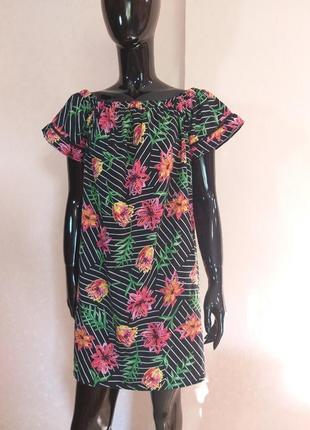 Платье сарафан свободного кроя primark uk 14 наш 48