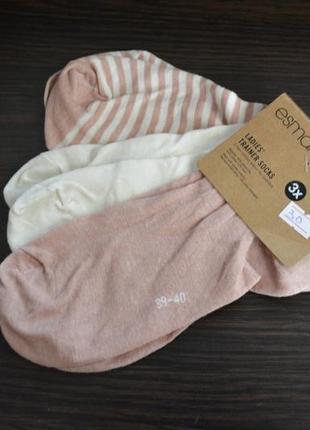 Носки легкие короткие esmara германия размер 39-40