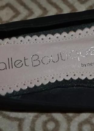 Туфли балетки next 25.5 см 39 размер англия2 фото