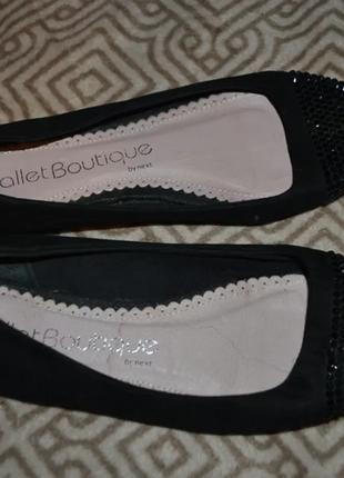 Туфли балетки next 25.5 см 39 размер англия6 фото
