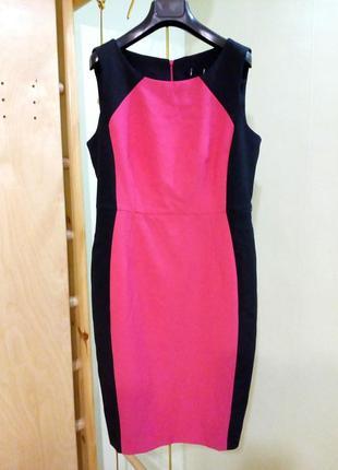 Красивое классическое платье футляр 12