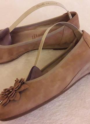Ортопедические замшевые туфли фирмы medicus
