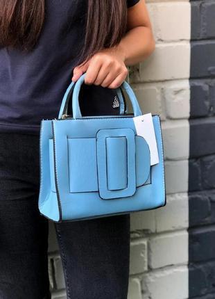 New ⭐️ каркасная сумочка с пряжкой / кросс-боди сумка из эко-кожи с ручками