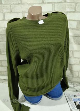 Свитшот свитер с латками  topshop