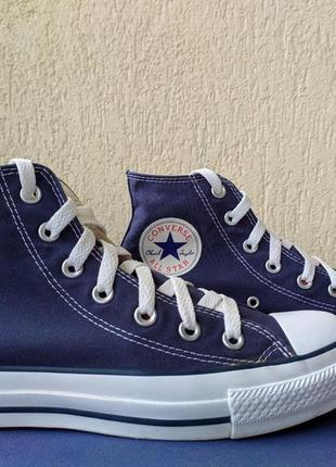 Кеды converse all star hi navy