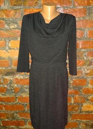 Платье с драпировкой на лифе