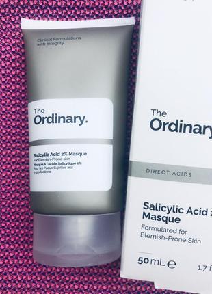 The ordinary очищающая маска с салициловой кислотой salicylic acid 2% masque