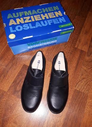 Кожанные туфли richter 36