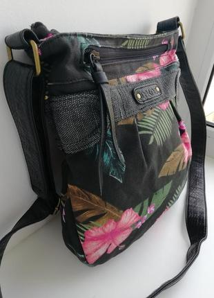 Фірмова сумка кросбоді американського бренду dakine. оригінал!!!2 фото