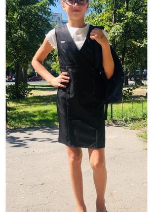 Школьное платье/сарафан