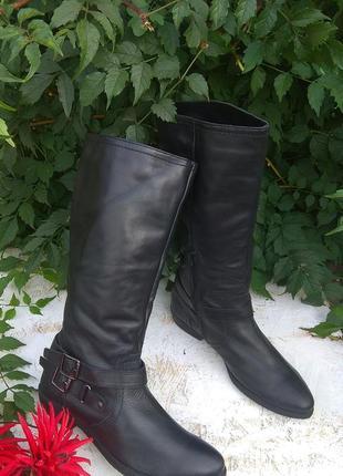 Шикарные кожаные деми сапоги jones р 38-39 англия