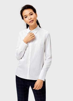 Рубашка блузка белая ostin