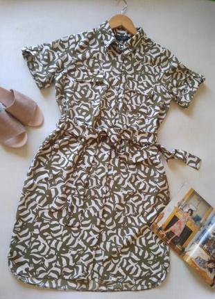 Трендовое платье рубашка dorothy perkins
