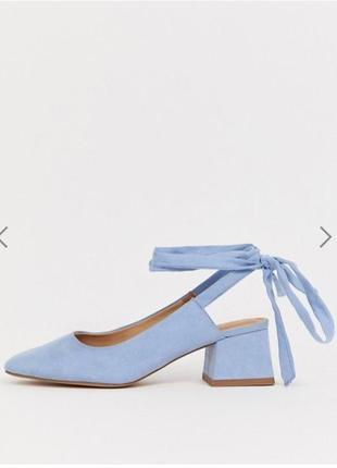 Шикарные туфли на завязках asos