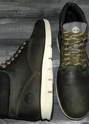 Timberland ! оригинальные, кожаные, невероятно крутые ботинки