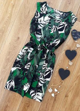 Лёгкое зелёное платье.primark.
