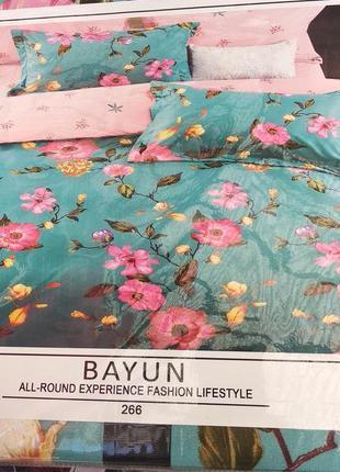Двухспальный комплект постельного белья из фланели