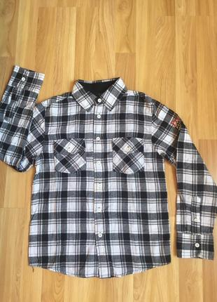 Рубашка фланелевая в клетку takko fashion